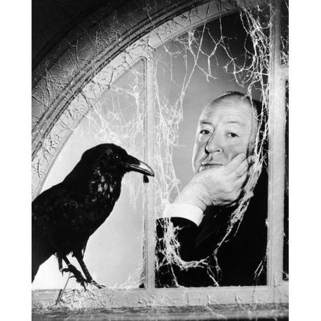 Affiche Alfred Hitchcock - Dimension 24x30 cm