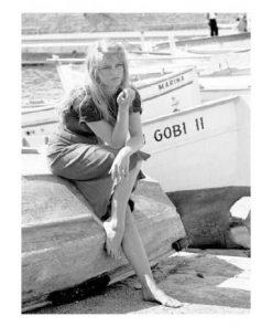 Affiche Brigitte Bardot - St Tropez - Affiche 24x30 cm