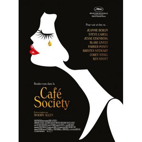 Affiche Café society avec Jesse Eisenberg - Woody Allen - 40x53 cm