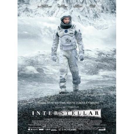 Affiche Interstellar - Christopher Nollan 2014 - 40x53 cm pliée