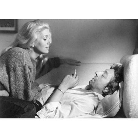 Affiche Je vous aime - Deneuve Gainbourg - Affiche 50x70 cm