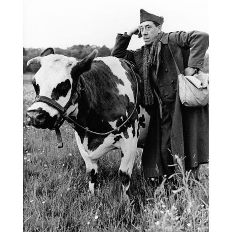 Affiche La Vache et le Prisonnier - Fernandel - Dimension 24x30 cm