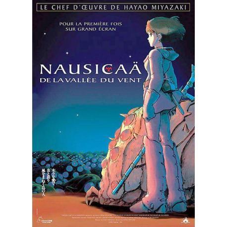Affiche Nausicaä avec Gorô Naya - Hayao Miyazaki