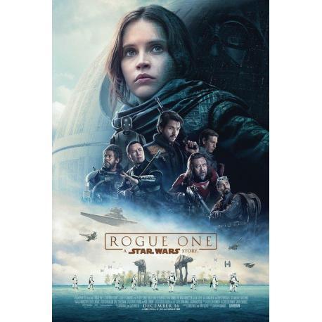 Affiche Rogue One avec Felicity Jones - Gareth Edwards - 40x53 cm