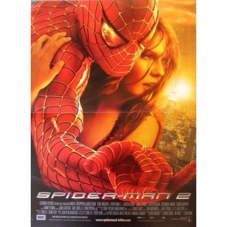 Affiche Spiderman 2 - Sam Raimi 2004 - 40x53 cm Pliée