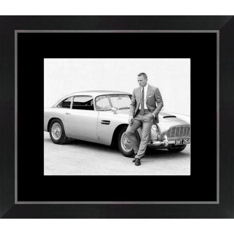 Affiche encadrée James Bond - Daniel Craig - 24x30 cm (Cadre Tucson)