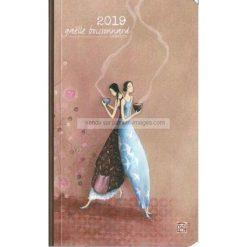 Agenda 2019 Gaëlle Boissonnard - Autour d'un bol fumant - 10.2x16.6 cm