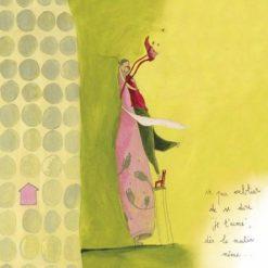 Carte Anne-Sophie Rutsaert - Ne pas oublier de se dire je t'aime dès le matin même… - 14x14 cm