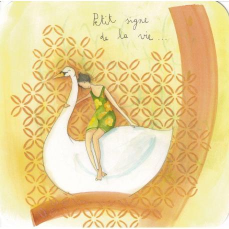 Carte Anne-Sophie Rutsaert - Petit signe de la vie... - 14x14 cm
