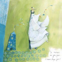 """Carte Anne-Sophie Rutsaert """"Se marier un jour"""