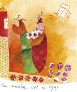 Carte Anne-Sophie Rutsaert - Une rencontre