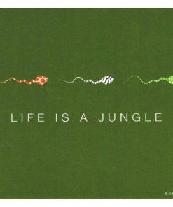 Carte Born 2B - Life is a jungle - 13.5x14.5 cm