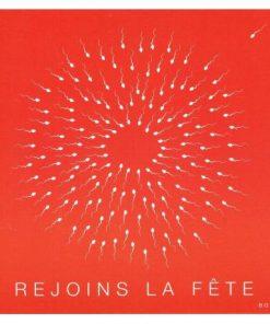 Carte Born 2B - Rejoins la fête - 13.5x14.5 cm