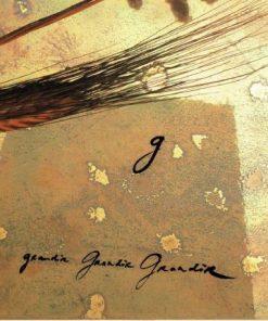 Carte Déborah Choc - Le G - L'abécédaire et ses secrets - 13x13 cm