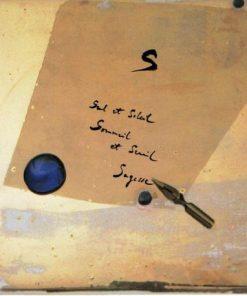 Carte Déborah Choc - Le S - L'abécédaire et ses secrets - 13x13 cm