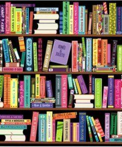 Carte Lali - La bibliothèque - 14x14 cm