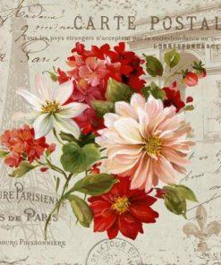 Carte Lisa Audit - PS J T'aime Might II - 14x14 cm