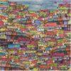 Carte Maïlo - Envol sur caracas - 14x14 cm