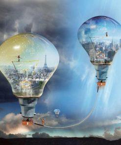 Carte Maïlo - Rêves de cité: Entre Paris et New York - 14x14 cm