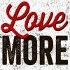 Carte Michael Mullan - Love More - 14x14 cm