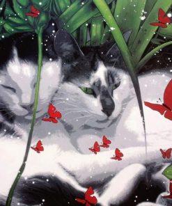 Carte Nathalie Mulero_Fougeras - Adoration - 14x14 cm