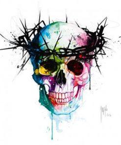 Carte Patrice Murciano - Jesus´s Skull - 14x14 cm
