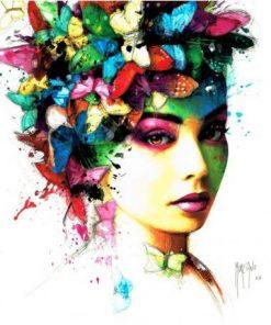 Carte Patrice Murciano - L'effet Papillon - 14x14 cm