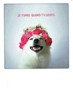Carte Pickmotion de @Emwng - Je fonds quand tu souris - 10.5x13 cm