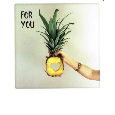 Carte Pickmotion de @Jungbusher - Ananas For You - 10.5x13 cm