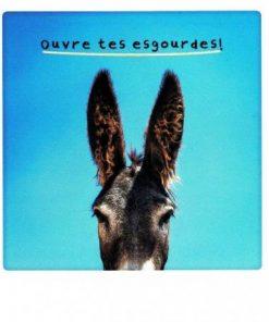 Carte Pickmotion de @Kuchale - Ouvre tes esgourdes ! - 10.5x13 cm