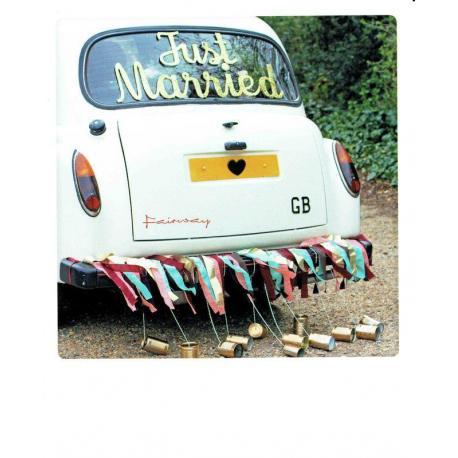 Carte Pickmotion de @Pea_green_boat_weddings - Just married - 10.5x13 cm