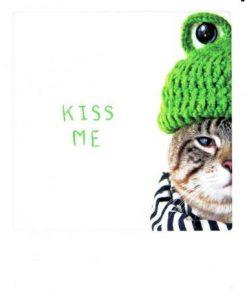 Carte Pickmotion de @Poonchic - Kiss me - 10.5x13 cm