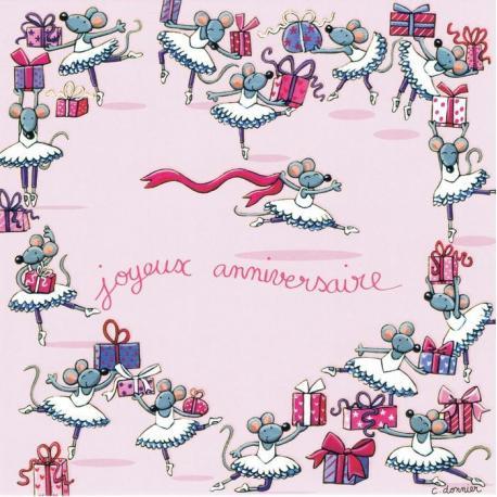 Carte Titi Pinson Christine Donnier Joyeux Anniversaire Les