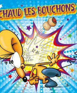 Carte Ze Souris - Chaud les bouchons... - 15x15 cm