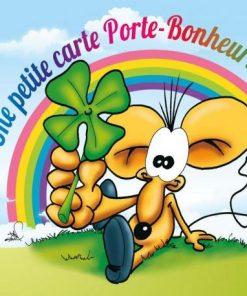 Carte Ze Souris - Une petite carte porte bonheur... - 15x15 cm
