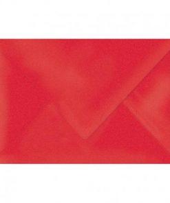 Enveloppe nacré rouge 11.4 x 16.2 cm