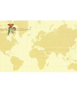 Enveloppe personnalisée - Comme un voyage -  20.4 x 11.4 cm