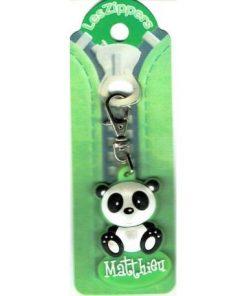 Porte-clés Zipper prénom MATTHIEU - 6.5x3 cm env