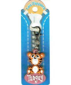 Porte-clés Zipper prénom TANGUY- 6.5x3 cm env