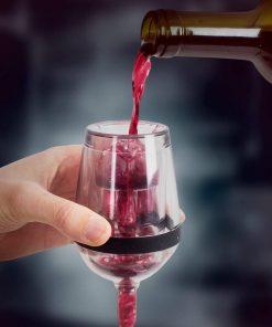 Un aérateur original pour faire respirer votre vin avant de le servir