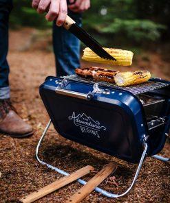 Barbecue transportableDesign et pratiqueSavourez de délicieuses grillades n'importe oùParfait pour un pique-nique réussi !