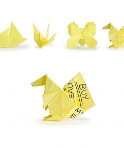 100 feuilles Bloc-notes autocollantes 10 modèles différentsDonnez une seconde vie à vos notes grâce au pliage