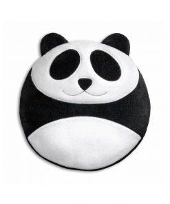 Bouillotte originale en forme de PandaGrains de blés issus de l'agriculture biologiqueSe réchauffe au micro-ondesFun et moment détente en vue...