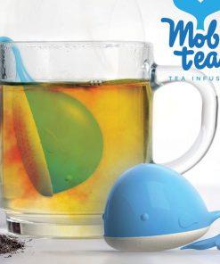 Cette boule à thé baleine vous rappellera le sable fin et chaud de vos vacances à la mer et vous permettra donc de vous évader le temps d'une pause...
