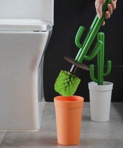 Besoin d'originalité pour vos WC ? Ne cherchez plus ! Cette superbe brosse de toilette Cactus sera parfaite pour ajouter du fun à votre pièce.