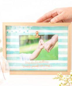 Immortalisez une photo souvenir d'un instant magique et mémorable !  Cadeau idéal pour tous les grands-parents !