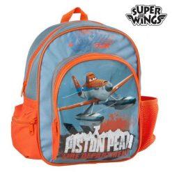 Cartable Super Wings 73530 Bleu Orange