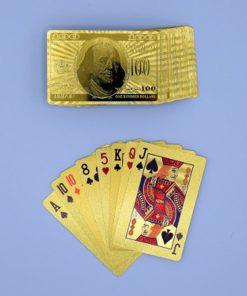 Jamais un jeu de 54 cartes n'à été aussi élégant. Les cartes en plastique glissent facilement