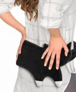 Cette ceinture bouillotte chat en coton et polyester sera parfaite pour réchauffer et soulager les douleurs du dos.