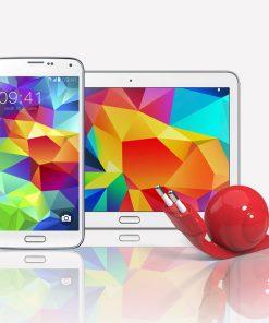 Chargeur en forme d'escargotAdapté pour appareil sous AndroidDesign et 4 couleurs au choixFil rétractable de 80 cm de longueurCréation française !